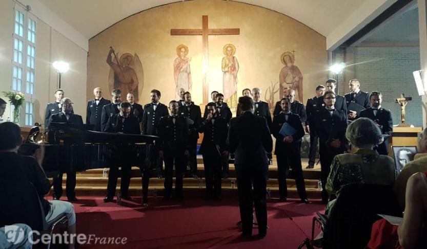 PHOTO DU CHOEUR DE L'ARMEE FRANCAISE